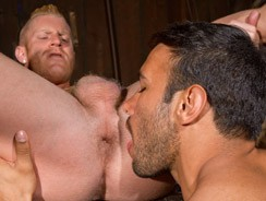 Johnny V And Dorian Ferro from Raging Stallion