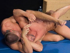 Martin Vs Arny Wrestling from William Higgins