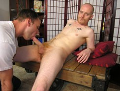 gay sex - Ginger Bush from New York Straight Men