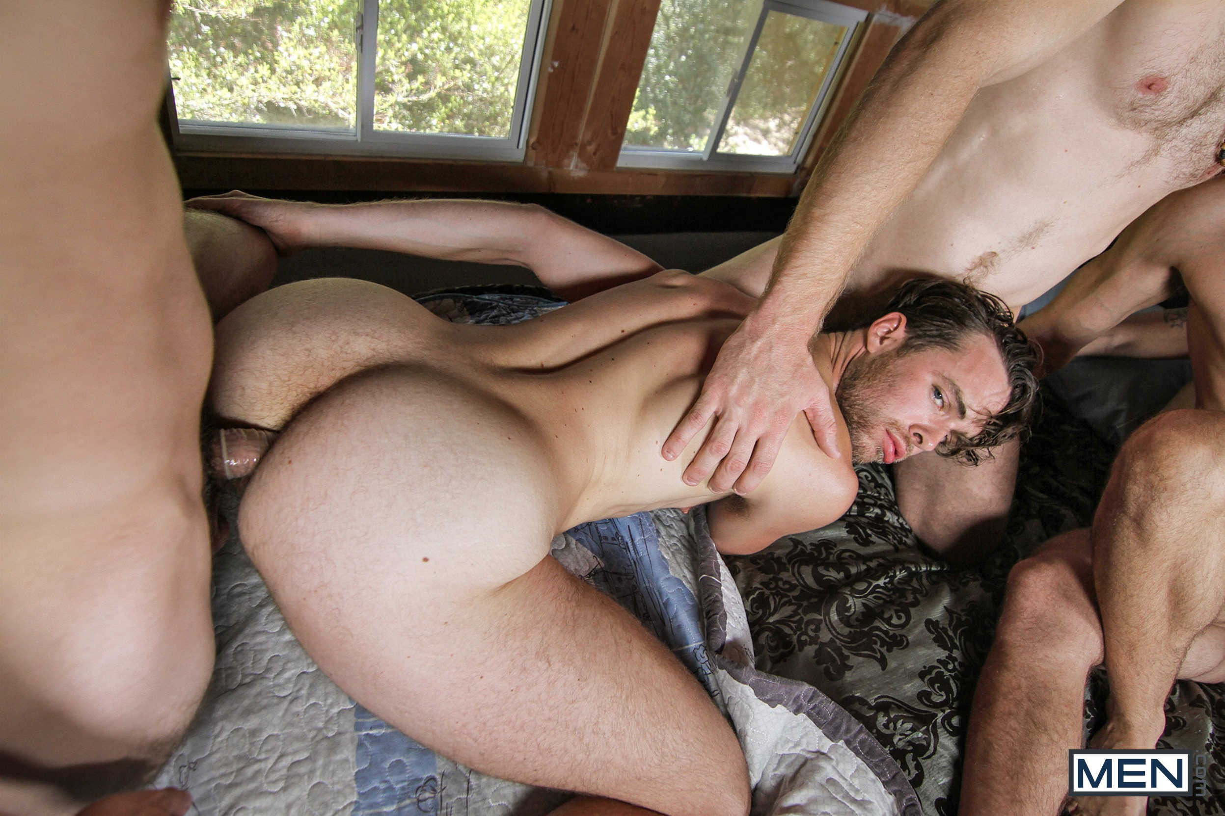Gay Hairy Men Orgie