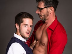 Bryce Action And Tony Salern from Icon Male