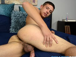 Brock Tucker Busts A Nut from College Dudes