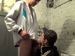 gay sex - Chav Big Bro Pounds Hard from French Lads