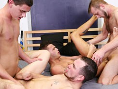 gay sex - Four Is More Fun from Broke Straight Boys