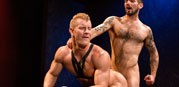 Chris Harder And Johnny V from Raging Stallion