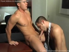Andrew Justice And Trent Atkins from Falcon Studios