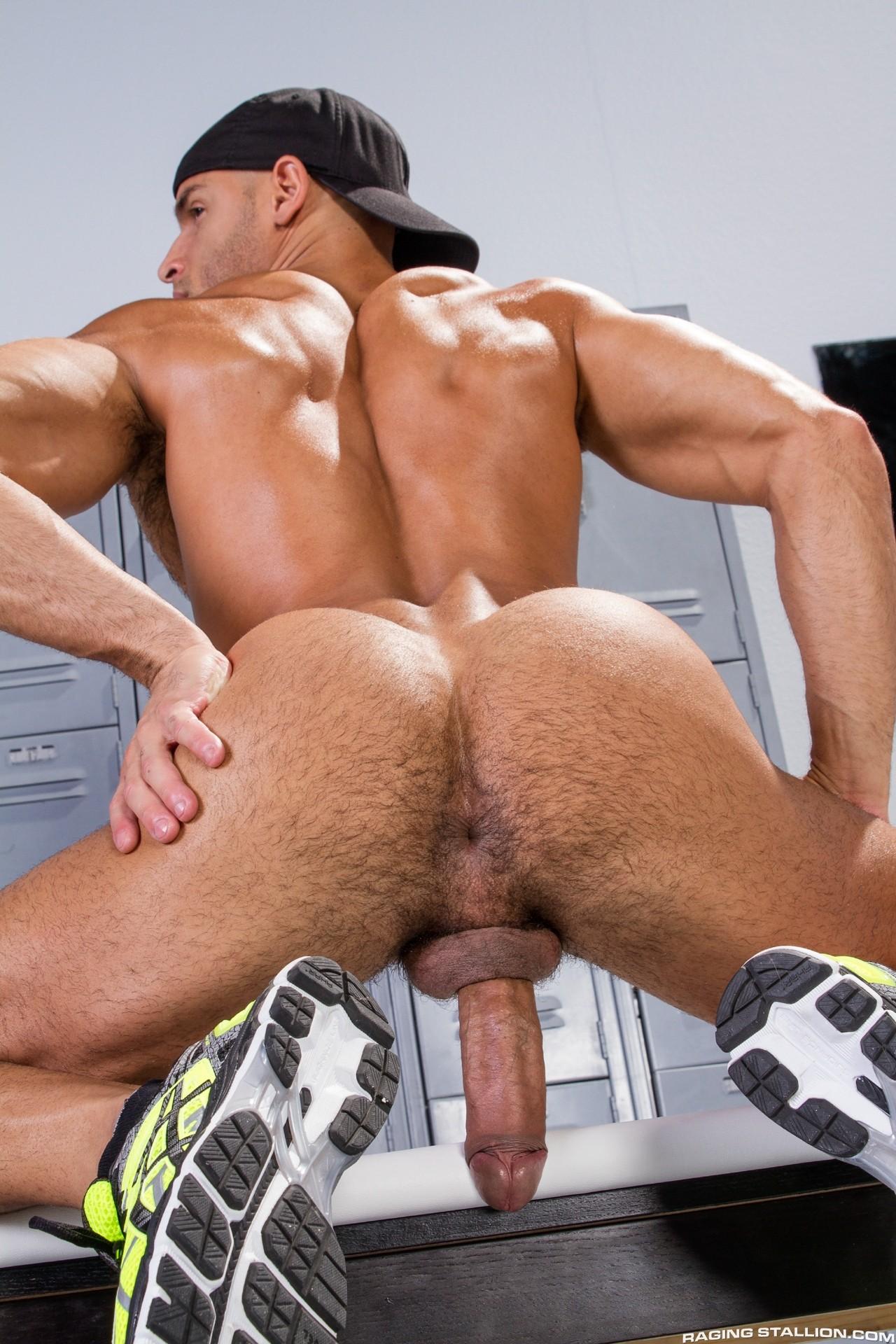 Naked gay man ass