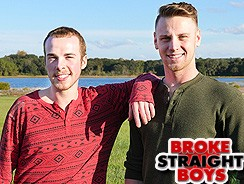 Kaden Porter And Brandon Evan from Broke Straight Boys