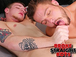 Zeno Kostas And Ryan Fields from Broke Straight Boys