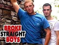 Conner Chesney Fucks David from Broke Straight Boys