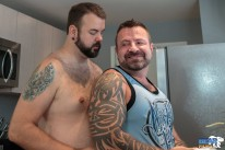 Marc Angelo And Aiden Storm from Bear Films