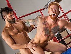 Adam Ramzi And Wesley Woods from Raging Stallion