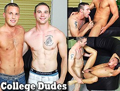 Sean Summers Fucks Alex Andre from College Dudes