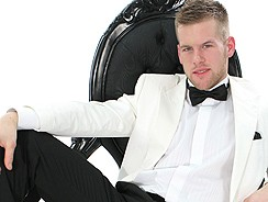 Suit And Tie Hunk David Jones from Men At Play