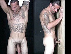 Tattooed Redneck Gloryhole from Straight Fraternity