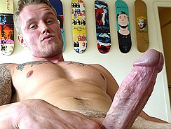 Muscle Jock Solo Stroke from Maverick Men Directs
