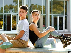 Skater Twinks Hot On Wheels from Helix Studios