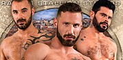 Men Of Madrid from Raging Stallion