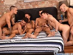 Blakemason Orgy from Blake Mason