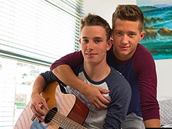 Guitar Hero Gay Twink Porn from Helix Studios