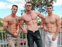 Active Duty Military Threesum from Active Duty