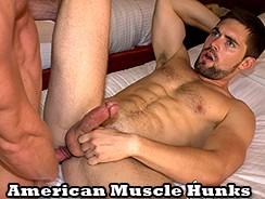 Johnny V N Griffin Barrows from American Muscle Hunks
