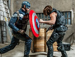 Captain America Gay Porn from Super Gay Hero