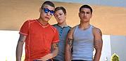 Tyler Brody And Vadim 3 Way from Broke Straight Boys