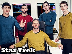 Star Trek Gay Xxx Porn Parody from Super Gay Hero