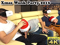 Xmas Wank Party 2016 Part 1 from William Higgins