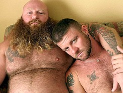 Christian And Rusty G from Hairy And Raw