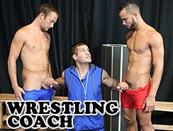 Sexy Older Wrestling Coach from Men Over 30