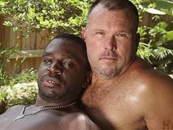 Daemon Sadi And Brock Hart from Hairy And Raw