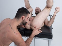 Teddy Torres And Reid from Hairy And Raw