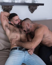 Teddy Torres And Alessio Rome from Bear Films