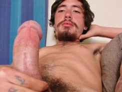 A Creamy Load From His Fat Co from Straight Naked Thugs