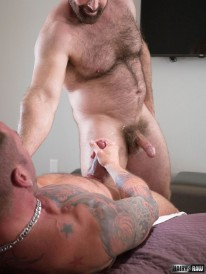 Brad Kalvo And Hugh Hunter from Hairy And Raw