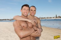Frankie And Shaw Bareback from Sean Cody