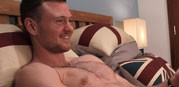 James Reveals His Hairy Body from English Lads
