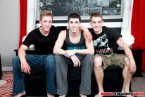 Ayden, Dakota And Damien from Broke Straight Boys