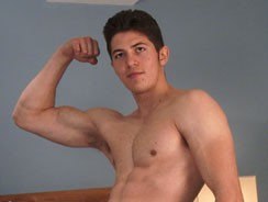 Cole Shows His Muscular Hairy from English Lads