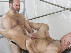 Joe Hardness And Guy English from Bear Films