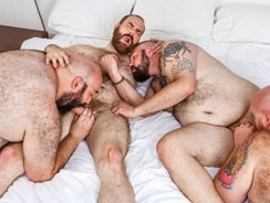 Tate, Rock, Steve And Skott 1 from Bear Films