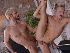 Dancer Jed Gives Gabriel Deep from Blake Mason