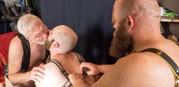 5 Man Sex Den Orgy Part 1 from Bear Films