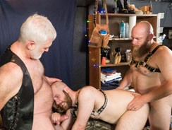5 Man Sex Den Orgy Part 1 from Bear Films