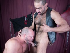 Amir Badri And Tyler Reed from Hairy And Raw