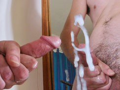 Jerking Off For A Girl from Straight Naked Thugs