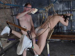 Milking The Twink Captive from Boynapped