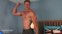 Muscular Hunk Eddie from English Lads